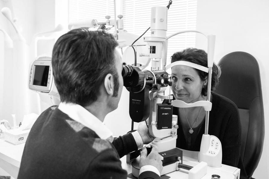 La chirurgie réfractive au laser - bilan de faisabilité